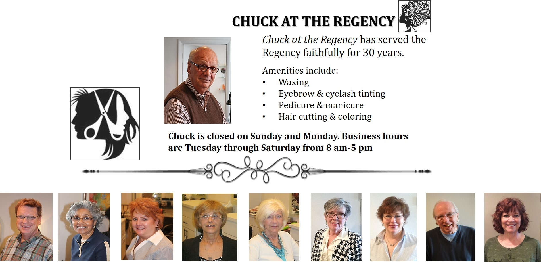 Chuck at the Regency NEW